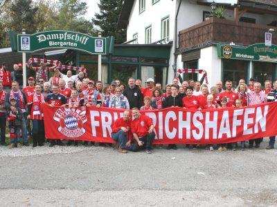 Große Fanausfahrt der Häfler Bayernfans gegen Freiburg